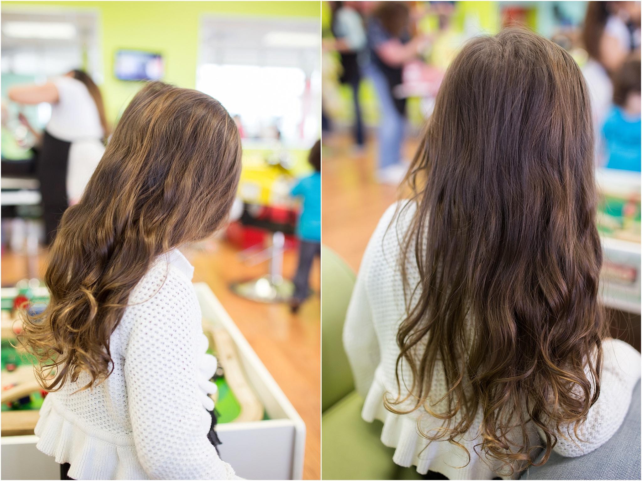 Rowans First Haircut Personal Heidi Calma Virginia Beach